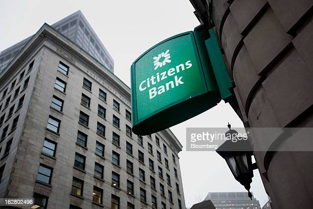 A Citizens Financial Group Inc bank branch stands in Boston Massachusetts US on Wednesday Feb 27 2013 Royal Bank of Scotland Group Plc will this week...