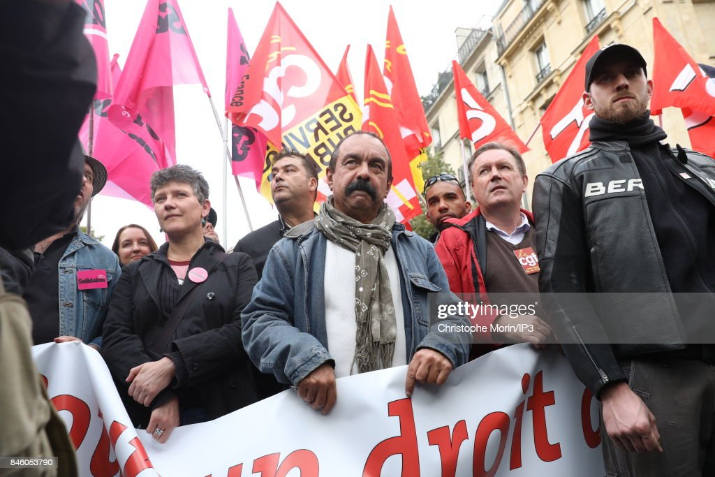 Demonstrations To Protest Against the Labour Law Reform In Paris