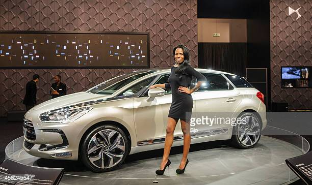 Citroen DS5 with model