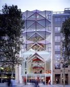 Citroen Flagship Store Paris Paris France Architect Manuelle Gautrand Citroen Flagship Store Paris Exterior View