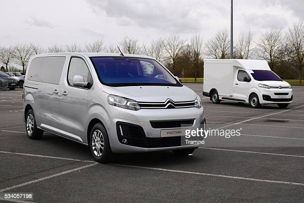 Citroen Spacetourer on the parking