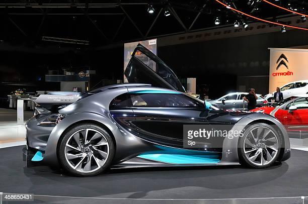 Citroën Survolt electric Konzept Auto-Seitenansicht