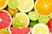 fresh fruits background