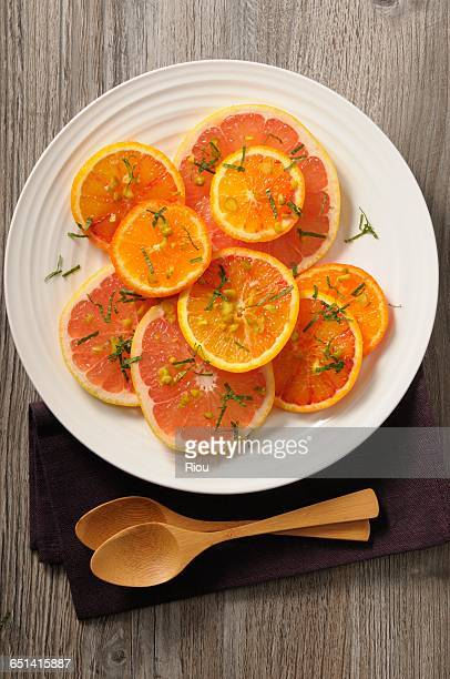 citrus fruit carpaccio