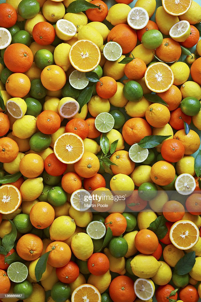 citrus fruit overhead