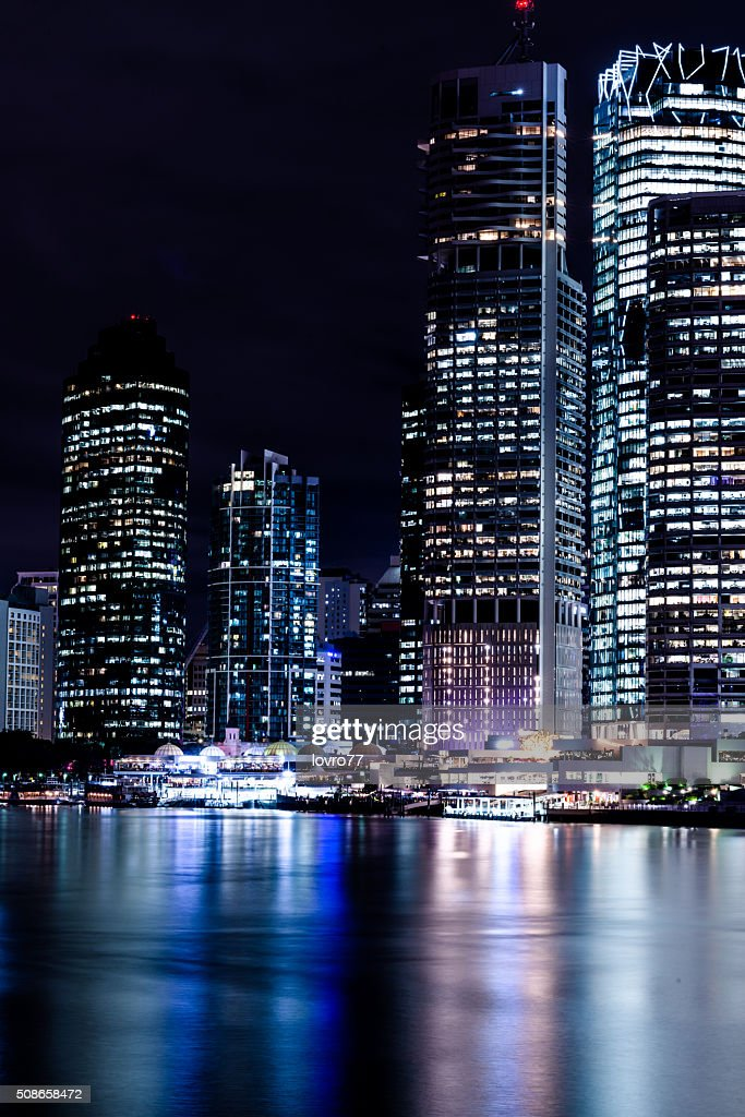 City at night : Stock Photo