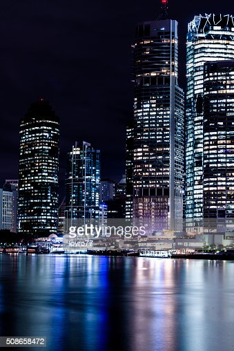 City at night : Stock Photo