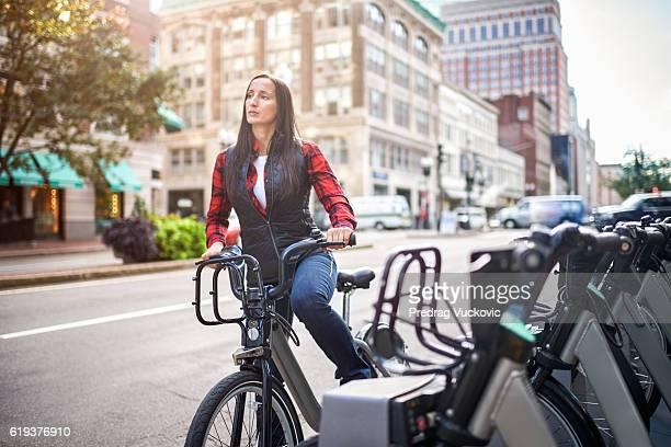 City bikes for share
