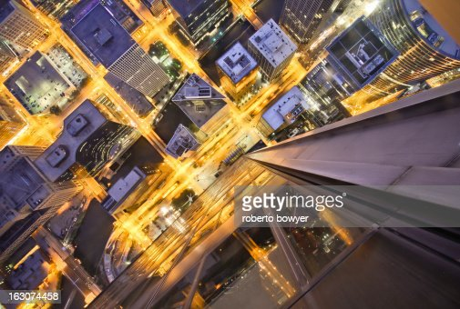 City birdeye view