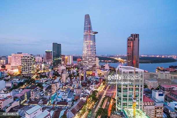 City Centre overlooking the Saigon port