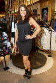 City Chic's Carley Turner attends the City Chic Exclusive Preview First US Store Culver City at Westfield Culver City Shopping Mall on July 31 2014...