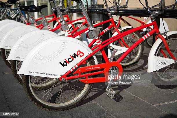 City council bikes to encourage people to be environmentally friendly.