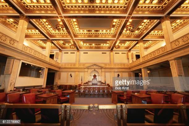 City Council Chamber at Philadelphia City Hall