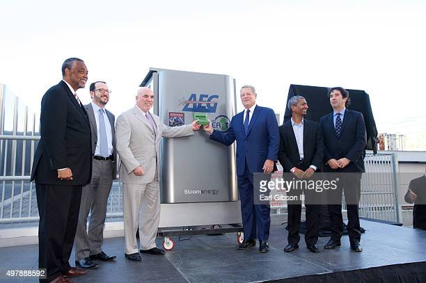 City Councilmember Curren Price President/CEO AEG Dan Beckerman President STAPLES Center and LA Live Lee Zeidman Former Vice President Al Gore CEO...