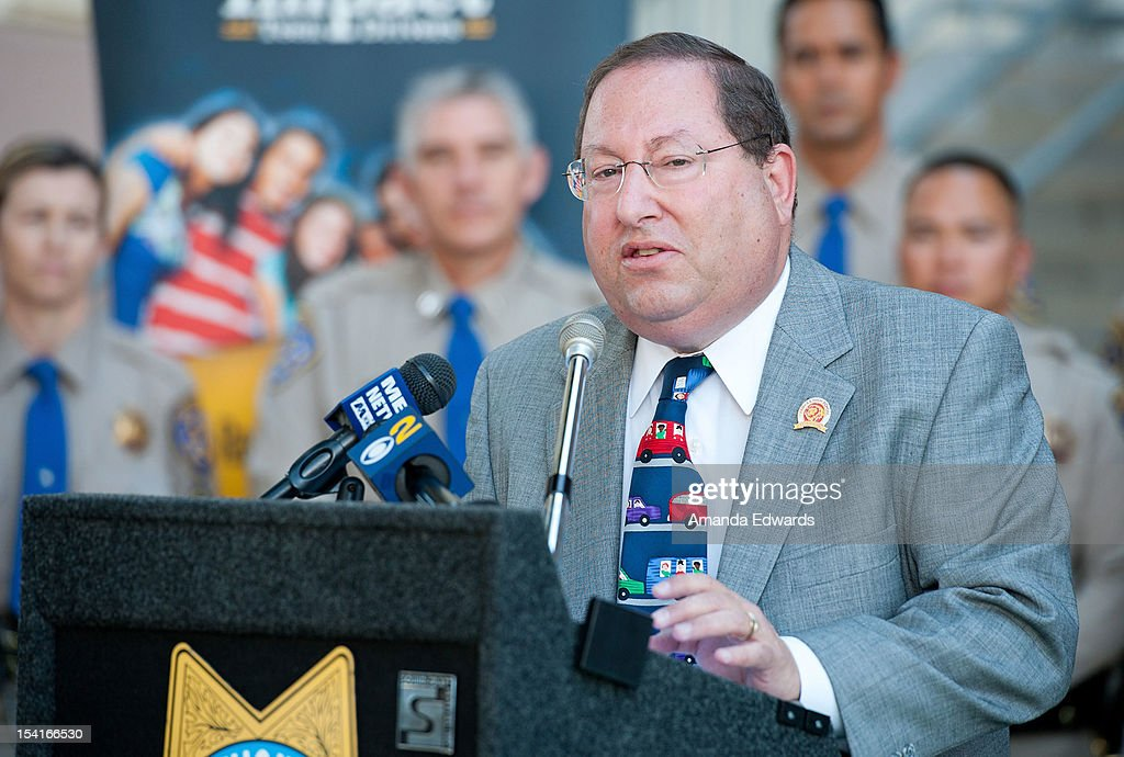 LA City Councilmember <a gi-track='captionPersonalityLinkClicked' href=/galleries/search?phrase=Paul+Koretz&family=editorial&specificpeople=2344758 ng-click='$event.stopPropagation()'>Paul Koretz</a> attends the Mercedes-Benz Driving Academy Kicks-Off National Teen Driver Safety Week With Actress Hailee Steinfeld at Fairfax High School on October 15, 2012 in Los Angeles, California.