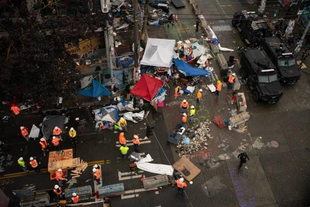 WA: Seattle Police Dismantle Occupied Protest Zone, Arrest Protestors