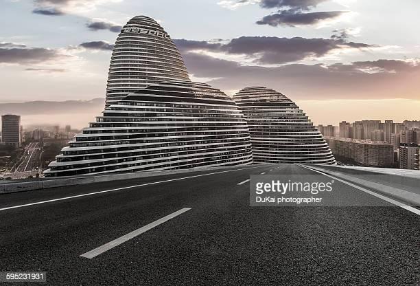 City Empty Road