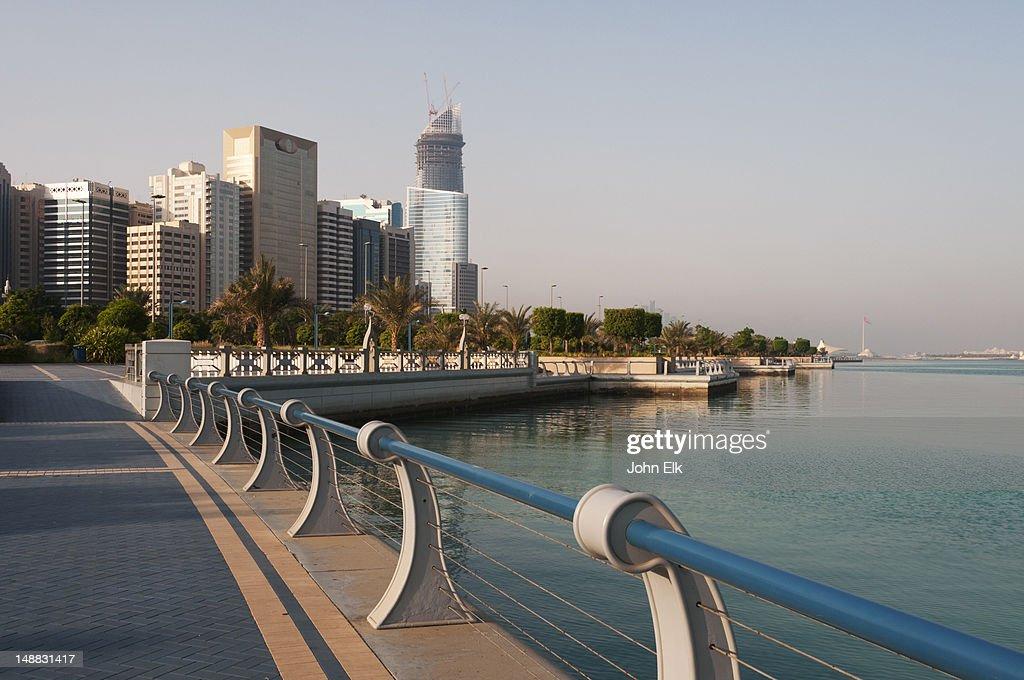 City from Corniche. : Stock Photo