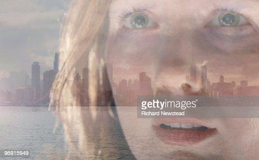 City Girl : Bildbanksbilder