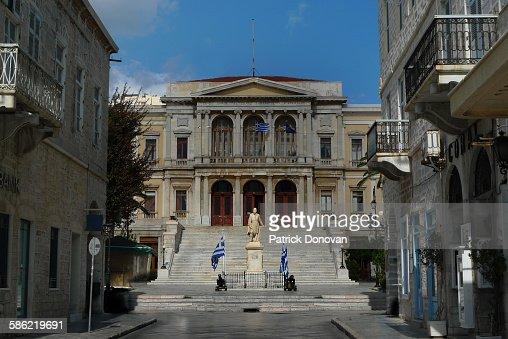 City Hall, Ermoupolis, Greece
