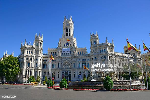 City Hall Plaza Cibeles Madrid Spain