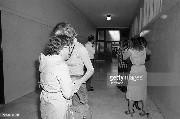 City hall workers express their grief as they heard that San Francisco mayor George Moscone and supervisor Harvey Milk were shot and killed The prime...