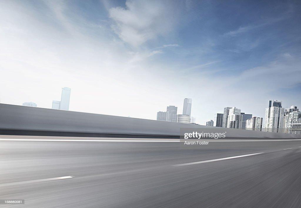 City Highway 2 : Stock Photo