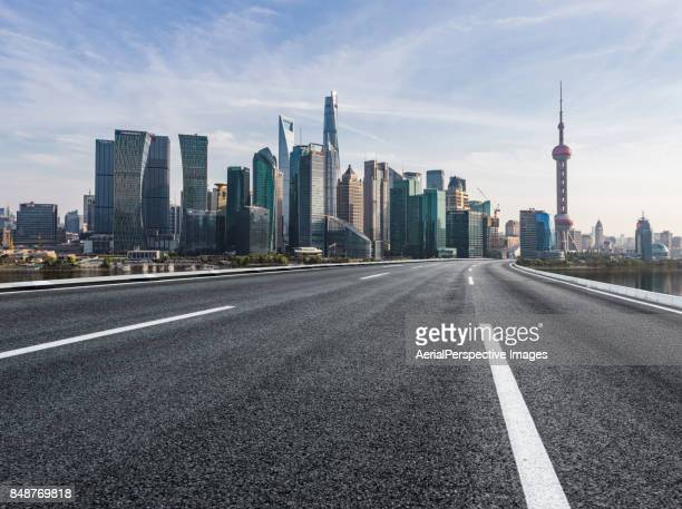 City Highway in Shanghai, China