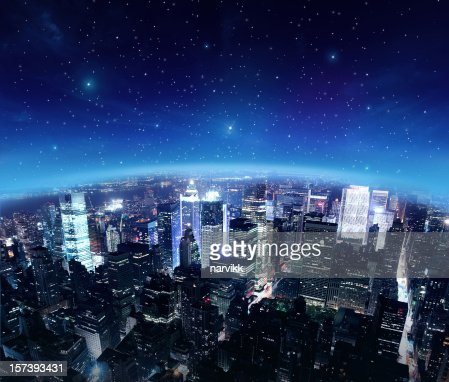 City Lights by Starry Night