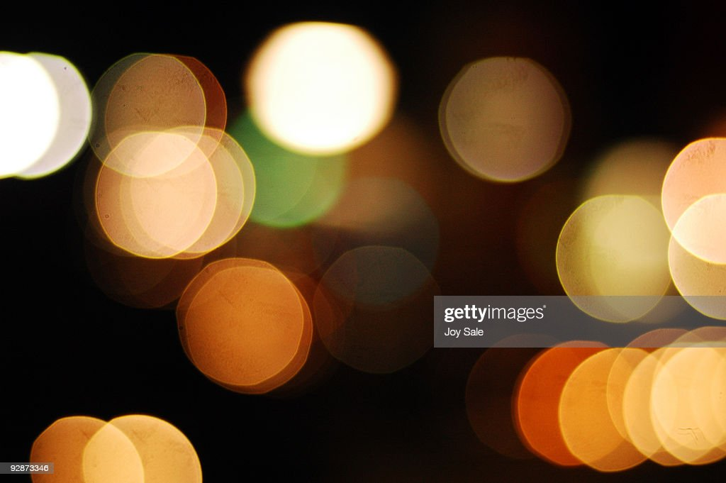 City Lights : Stock Photo