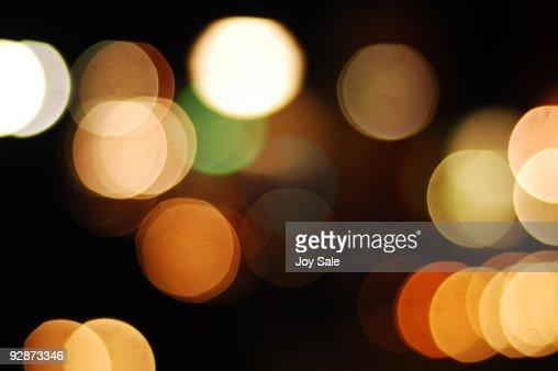 City Lights : Stock Photo