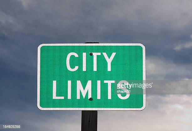 City Limits Street Sign