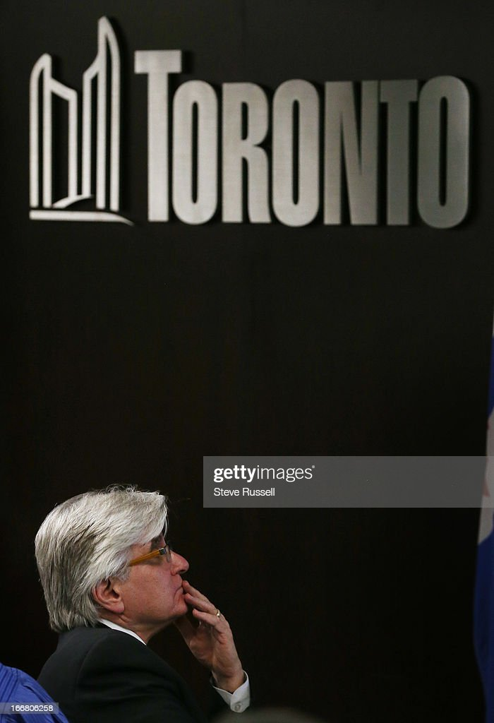 City Manager Joe Pennachetti watches a presentation after giving his report as the Executive Committee voted to support a downtown casino in Toronto.