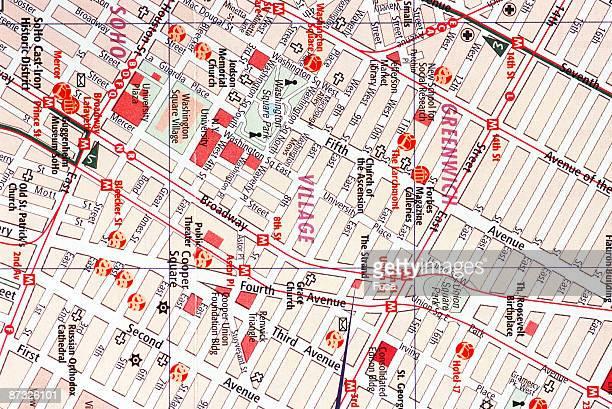 City map of New York