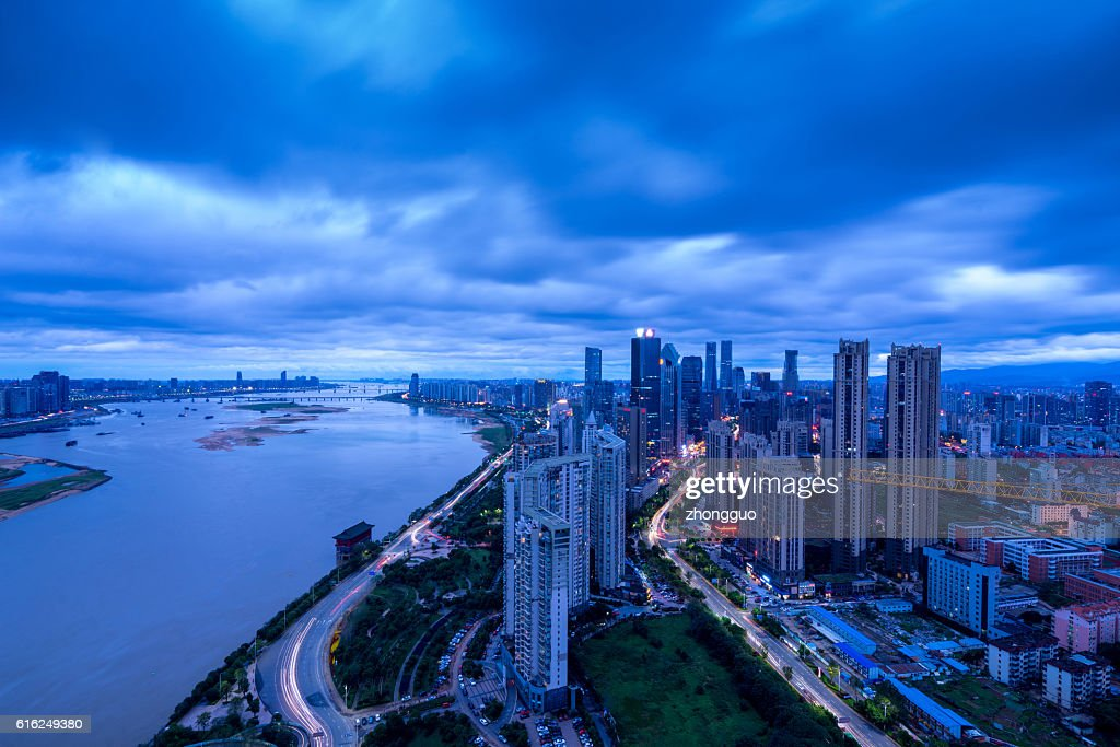 City night view : Stock Photo