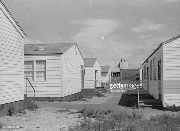 MAY 14 1965 MAY 16 1966 MAY 18 1966 A 'city' of 16 temporary barrackstype classrooms has grown up at rear of Bear Creek JuniorSenior High School 3490...