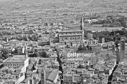 city of Arezzo in Tuscany : Stock Photo