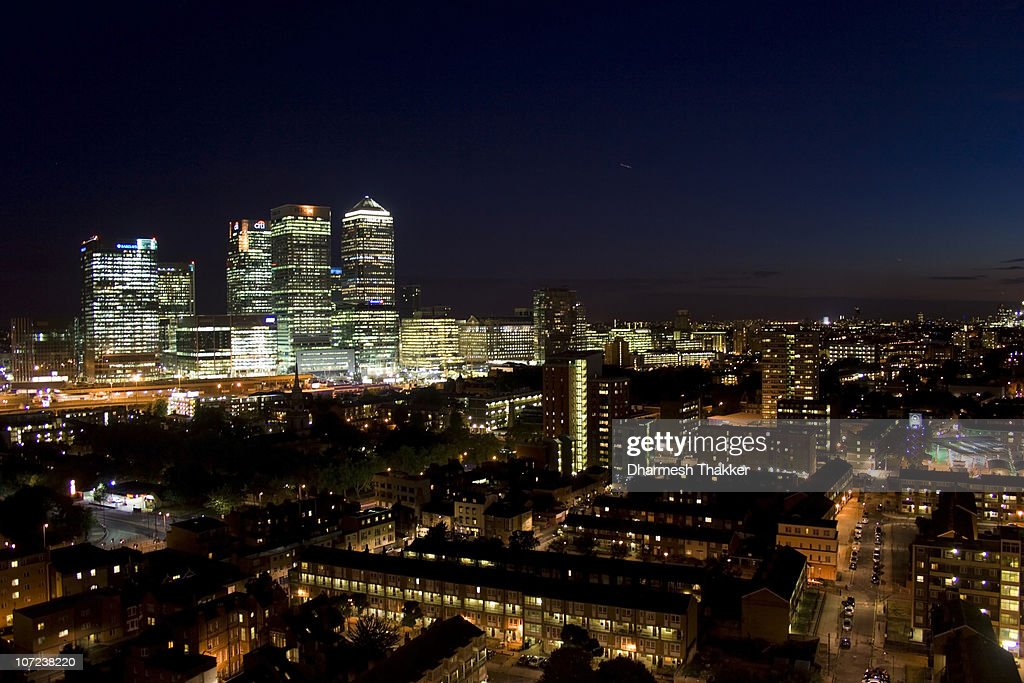 City of Blinding Lights : Stock Photo