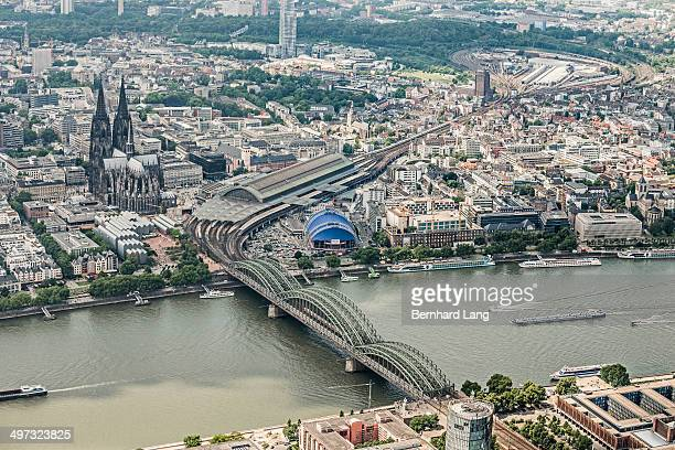 City of Cologne, Aerial view