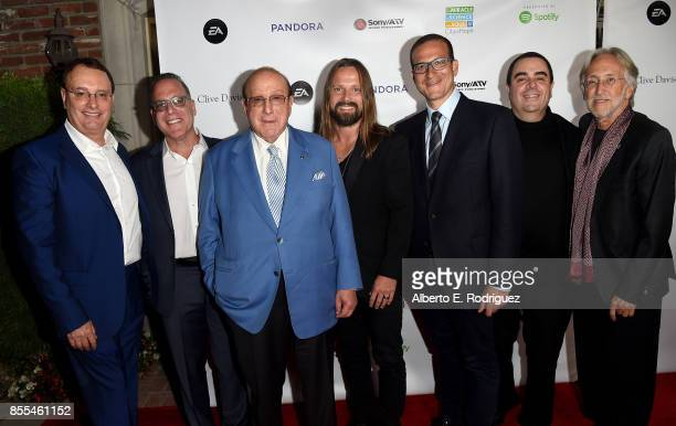 City of Hope CoChairs David Renzer and Steve Schnur Record producers Clive Davis and Max Martin City of Hope CoChairs Doug Davis and Evan Lamberg and...