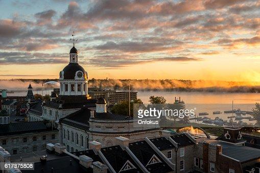City of Kingston Ontario, Canada at Sunrise