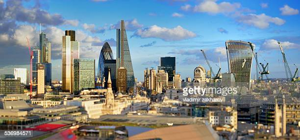 City of London 2015 skyline
