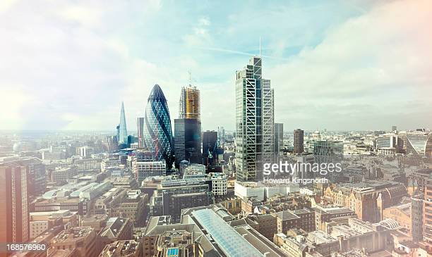 City of London elevated view