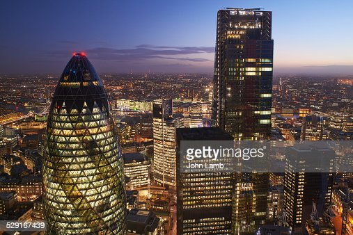 City of London. Financial District.