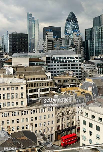 Escena de la ciudad de London