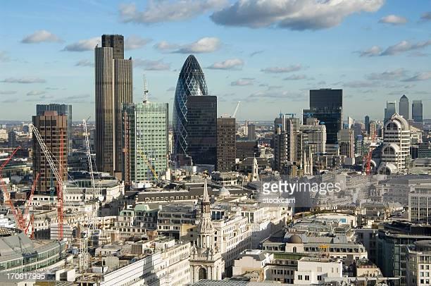City of London skyscraper skyline