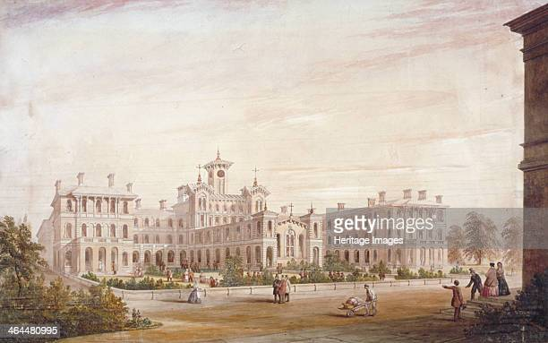 City of London Union Workhouse in Bow Road Poplar London 1849