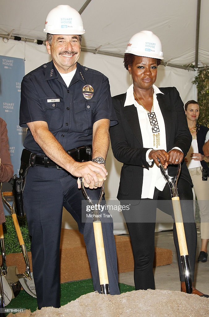 The Rape Foundations Groundbreaking Ceremony For The Construction Of A New Stuart House