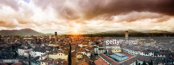 Stadt Lucca, Toskana.