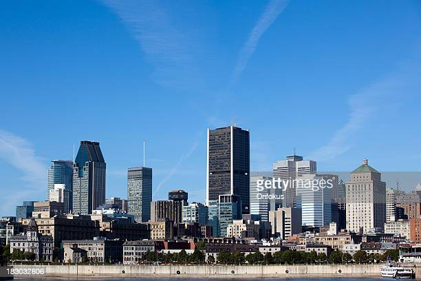 City of Montreal Stadt im Sommer